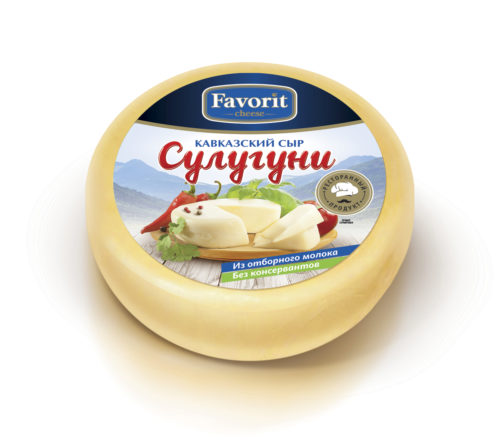 "Сыр свежий ""Favorit cheese"" сулугуни"
