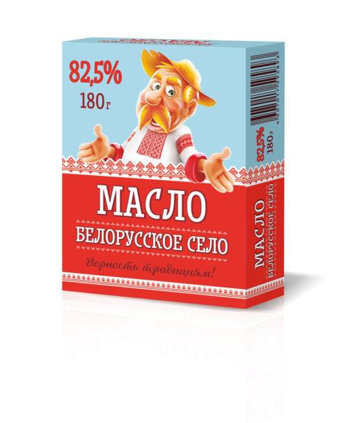 """Масло сливочное """"Белорусское село"""" Крестьянское"""